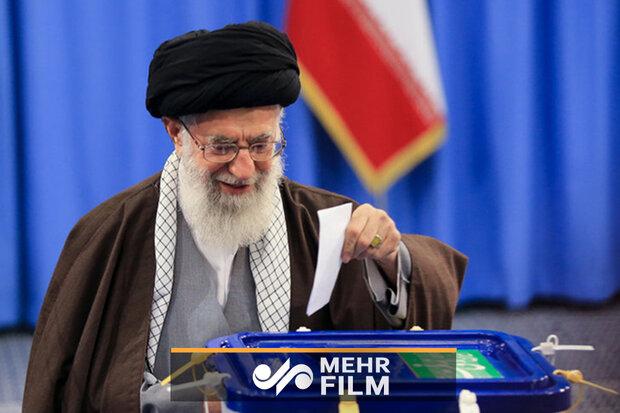 İslam Devrim Lideri Ayetullah Hamanei oyunu kullandı