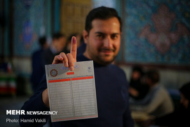 Iranians vote in parliamentary election