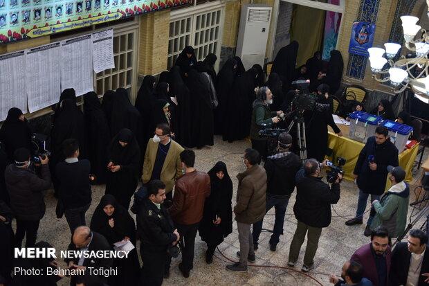 جشن ملی انتخابات ۹۸ - مسجد النبی (ص)