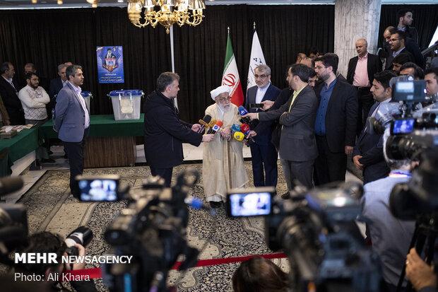 جشن ملی انتخابات ۹۸ - مجمع تشخیص مصلحت نظام