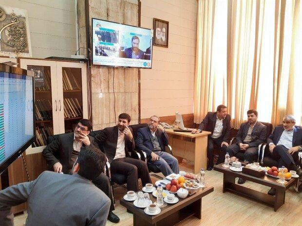 رصد وضعیت انتخابات از اتاق مانیتورینگ در ستاد مرکزی نظارت