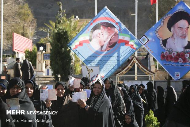 جشن ملی انتخابات ۹۸ - کرمان