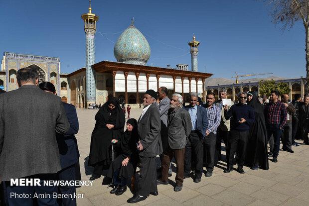 جشن ملی انتخابات ۹۸ - شیراز