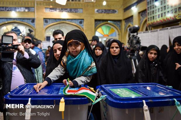 جشن ملی انتخابات ۹۸ - مسجد لرزاده