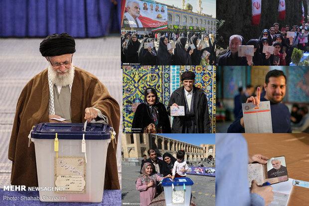 پایان فرآیند اخذ رأی انتخابات/ «جشن ملی» به شمارش آراء رسید