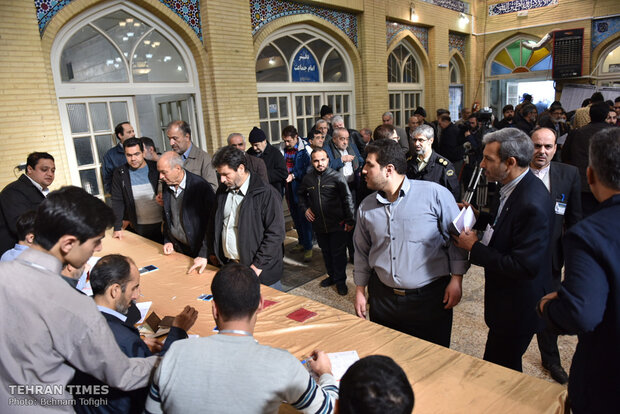 Iranians vote to elect new parliament amid tough U.S. sanctions