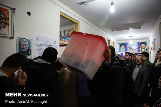 صندوق سیار حوزه انتخابیه نوشهر، چالوس و ڪلاردشت