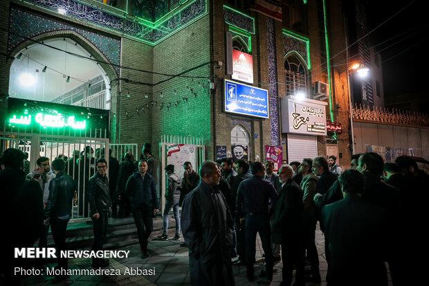 ساعات پایانی رای گیری در تهران