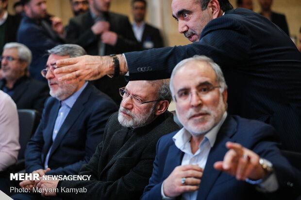بازدید رئیس مجلس شورای اسلامی از ستاد انتخابات کشور