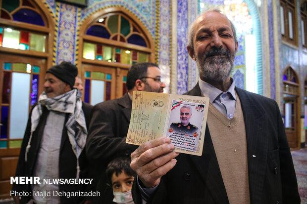 جشن ملی انتخابات ۹۸- یزد