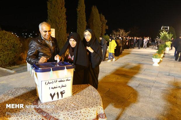 آخرین ساعات رای گیری در  اصفهان