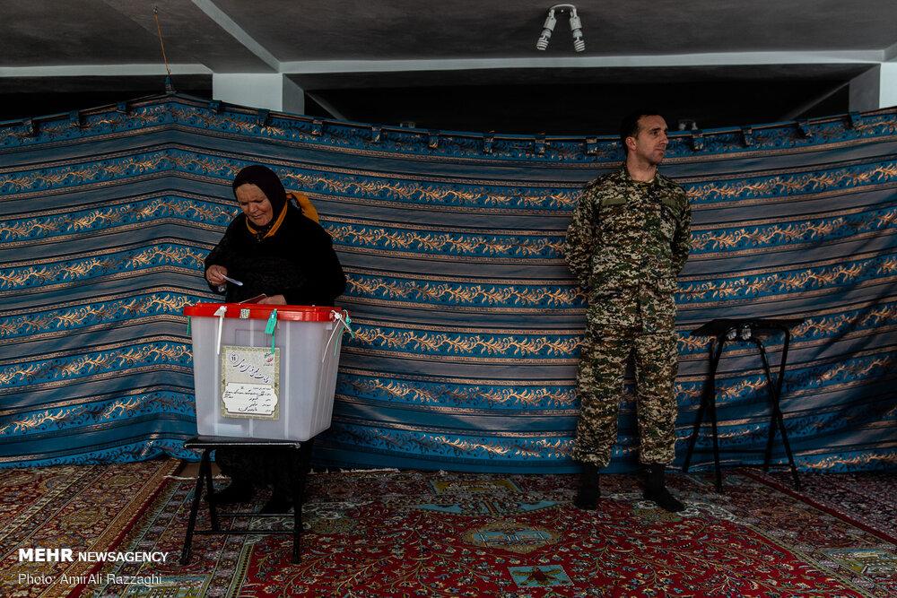 صندوق سیار حوزه انتخابیه نوشهر، چالوس و کلاردشت