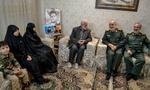 فرمانده کل سپاه باخانواده شهیدان «زمانینیا» و «پاشاپور»دیدارکرد