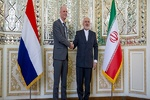 VIDEO: Iran's Zarif meets Netherlands' Blok in Tehran