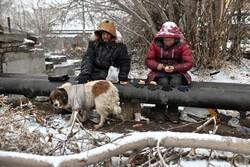 زندگی بیخانمانهای سیبری در سرمای منفی ۳۰ درجه