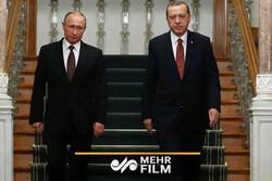 روسی صدر پوتین اور ترک صدر اردوغان کی ادلب کے متعلق گفتگو