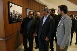نمایشگاه عکس بدرقه سردار در جزیره کیش برگزار شد