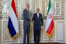 VIDEO: Iran's Zarif meets Netherlands' Blok in Tehran