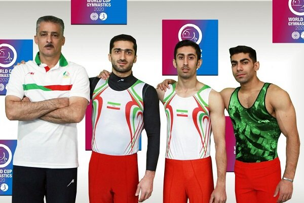 Iran gains two historic silvers in 2020 gymnastics World Cup