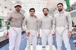 منتخب ايران للمبارزة يتاهل لاولمبياد طوكيو 2020