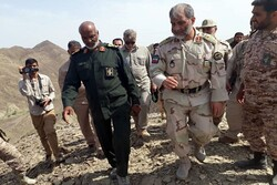 بازدید فرمانده مرزبانی ناجا از مناطق مرزی جنوب سیستان و بلوچستان