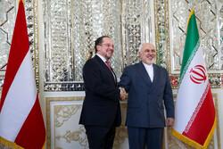 ایران اور آسٹریا کے وزراء خآرجہ کی ملاقات