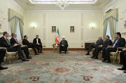 Rouhani holds talks with Austrian FM on bilateral relations