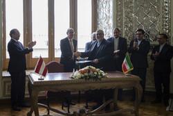 ایران اور آسٹریا کے درمیان ثقافتی اور ہنری یاداشت پر دستخط