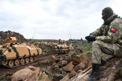 ورود ستون جدید ارتش ترکیه به سوریه/ درگیری شدید ارتش سوریه با تروریستها در جنوب ادلب