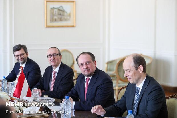 دیدار وزرای خارجه ایران و اتریش