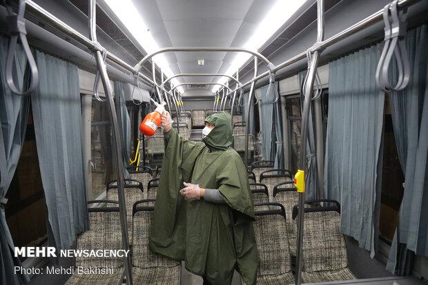 toplu taşıma dezenfeksiyonu