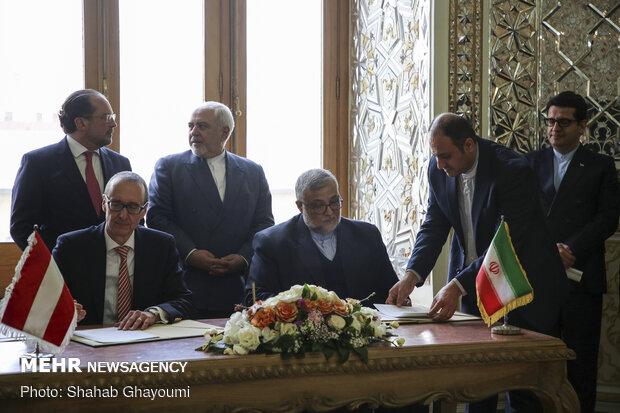 İran ve Avusturya arasında kültürel ve sanatsal işbirliği senedini imzalandı