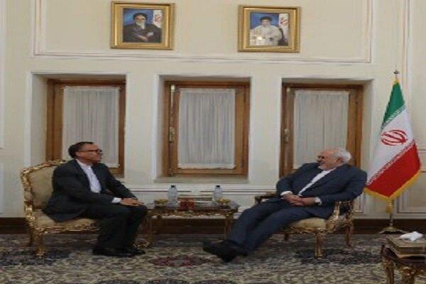 Thai envoy holds farewell meeting with Zarif