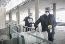 تبریز میں کورونا وائرس کی روک تھام کے لئے ٹرانسپورٹس میں جراثیم کشی کی مہم جاری