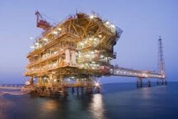 Iran installs 3rd offshore platform of SPGF's phase 13