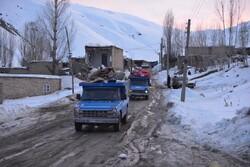 کرونا مانع امدادرسانی به زلزله زدگان قطور نشد/توزیع اقلام بهداشتی