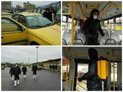 تمهیدات تاکسیرانی کرمانشاه برای جلوگیری از شیوع کرونا