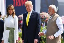 ترامپ: هند از توافق  آمریکا با طالبان حمایت میکند