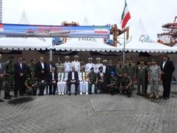 پهلو گرفتن ناوگروه شصت و ششم نیروی دریایی ارتش در بندر جاکارتا