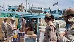 ۳۵۰۰ میلیارد ریال قاچاق در سواحل استان بوشهر کشف شد