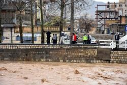 تہران میں سیلابی ریلا داخل