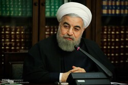 Health ministry's report on coronavirus 'promising': Pres. Rouhani