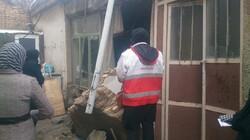 امدادرسانی به ۲۳ خانوار در بخش «زز و ماهرو» و «ذلقی» الیگودرز