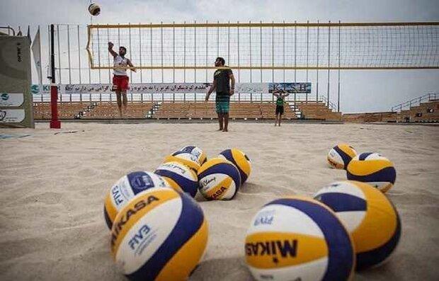 مسابقات والیبال ساحلی قهرمانی بزرگسالان خوزستان آغاز شد