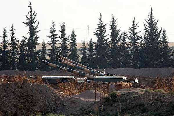 حمله راکتی ارتش ترکیه به روستاهای حلب