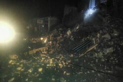 ریزش ساختمان در مینودشت یک کشته و ۵ مصدوم برجای گذاشت