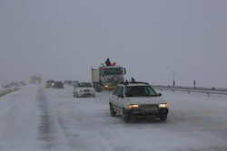 VIDEO: Severe blizzard in Zanjan-Qazvin highway