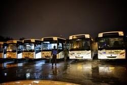 ضدعفونی کردن ناوگان حمل و نقل عمومی گرگان