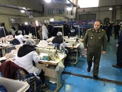 تولید روزانه ۲۰ هزار لیتر مواد ضدعفونی کننده و ۲۰ هزار ماسک در وزارت دفاع