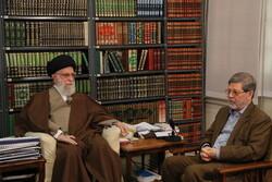The Leader of Islamic Revolution Ayatollah Seyyed Ali Khamenei